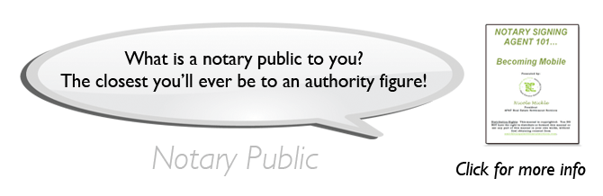 Notary Signing Agent 101